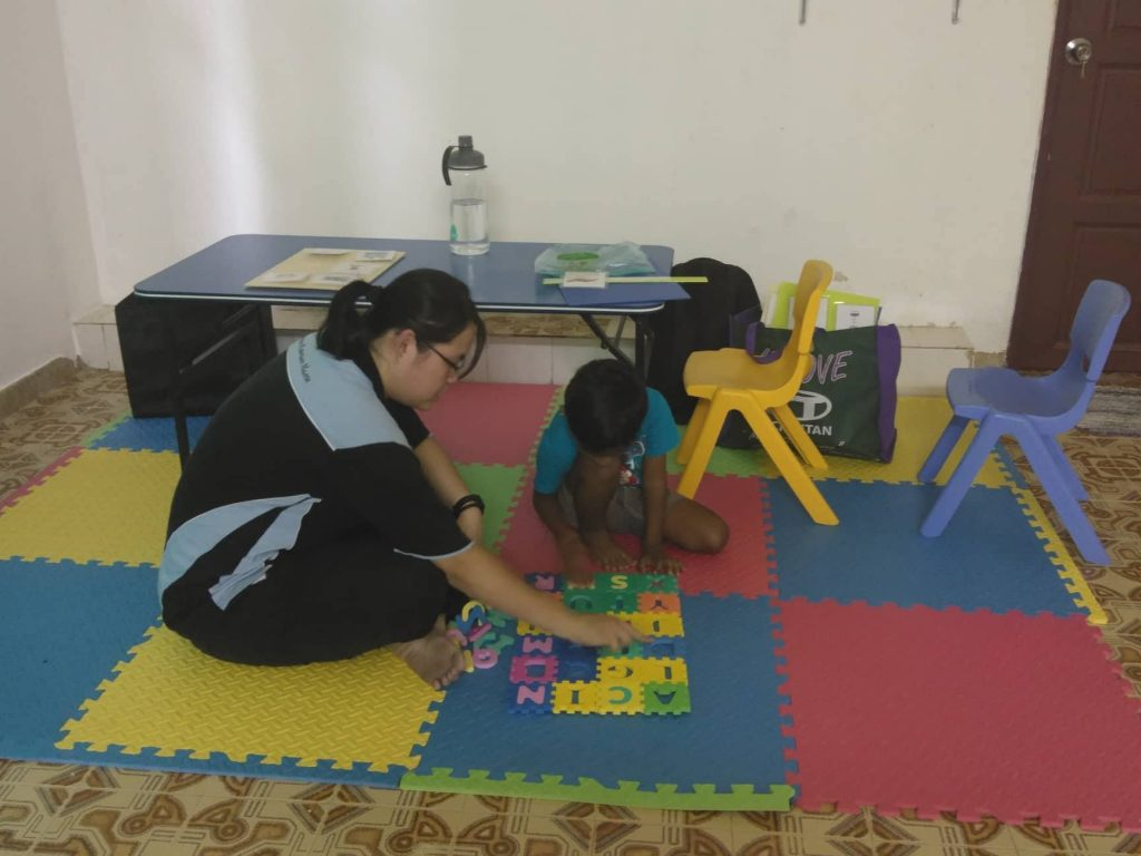 Speech Therapist, Cindee, The Play Project Mahavidya, Special Needs Children